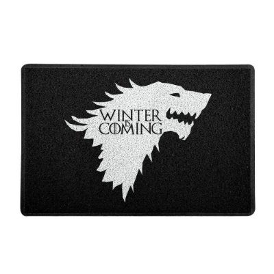 Capacho Vinil Stark Winter Is Coming