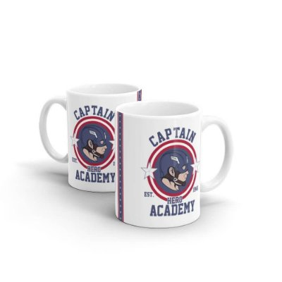 Caneca Captain Hero Academy