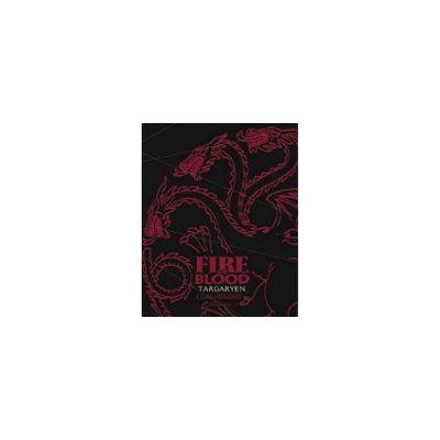Placa Game Of Thrones Targaryen Fire And Blood