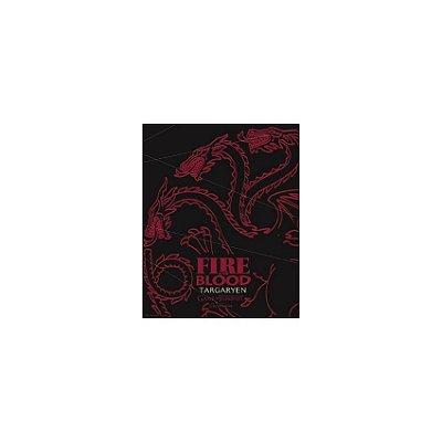 Placa Game Of Thrones Targaryen Fire And Blood