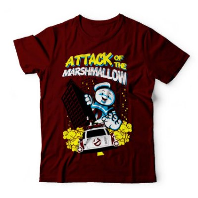 Camiseta Ghostbusters Attack Of The Marshmallow