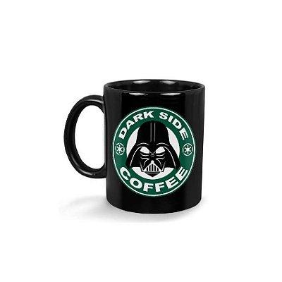 Caneca Come To The Dark Side Coffee