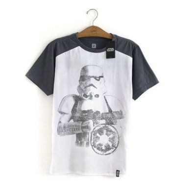 Camiseta Star Wars Stormtrooper Cinza