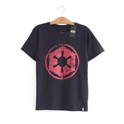 Camiseta Star Wars Logo Império
