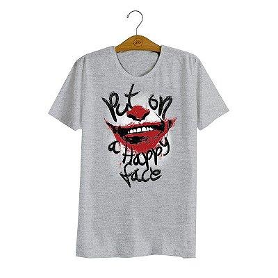Camiseta Joker Happy Face