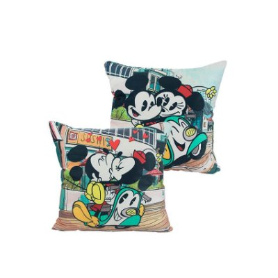 Almofada Mickey e Minnie Cartoon