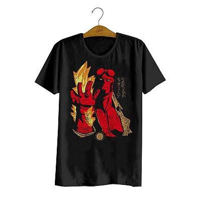 Pré-venda - Camiseta Hellboy