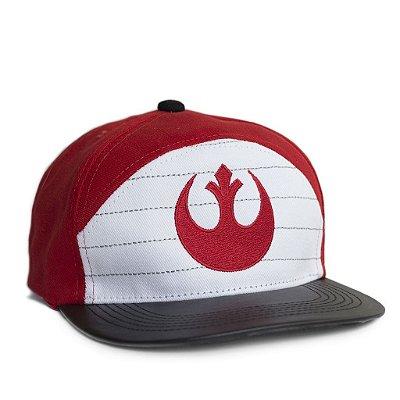 Boné Star Wars Aliança Rebelde Vermelho