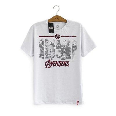 Camiseta Vingadores Faixas Marvel