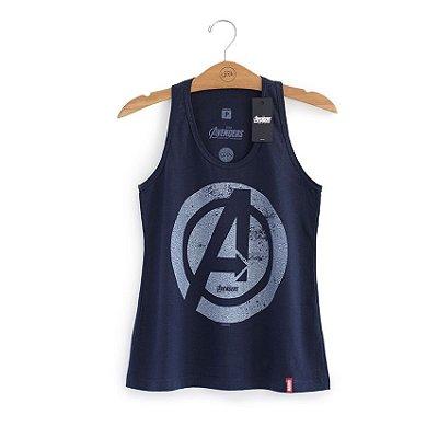 Camiseta Vingadores Logo Feminina