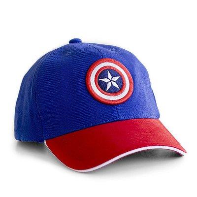 Boné Capitão América Escudo Vingadores