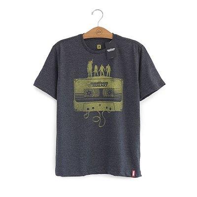 Camiseta Guardiões da Galáxia Fita Cassete