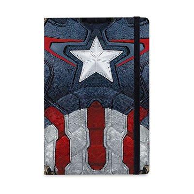 Caderno de Notas Capitão América Vingadores