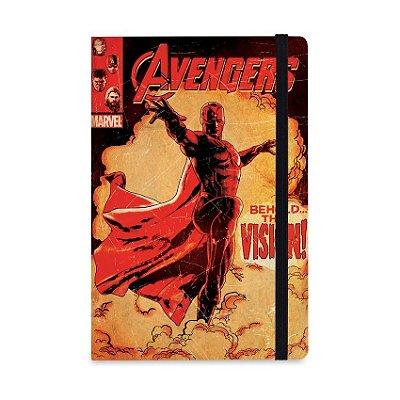 Caderno de Notas Visão Vingadores