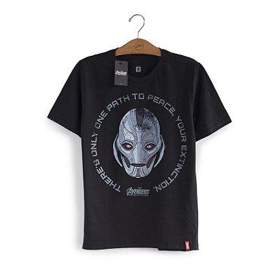 Camiseta Vingadores Ultron Face