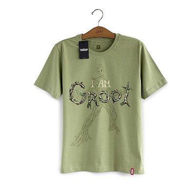 Camiseta Guardiões da Galáxia I am Groot