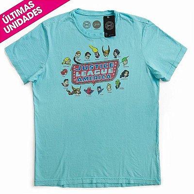 Camiseta Vintage Liga da Justiça