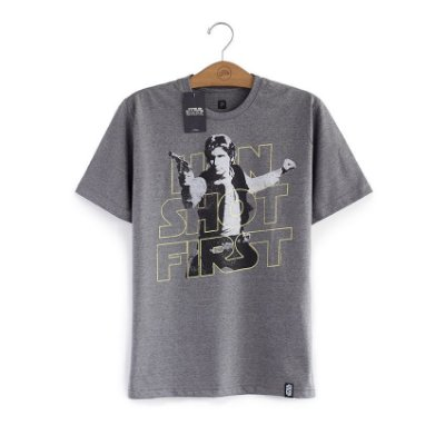 Camiseta Star Wars Han Shot First
