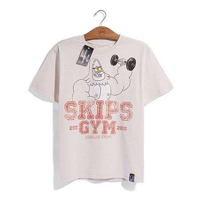 Camiseta Cartoon Network Apenas um Show Skips Gym