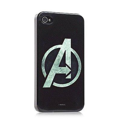 Capa para celular Os Vingadores Logo Marvel