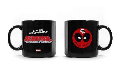Caneca Marvel Deadpool Máscara