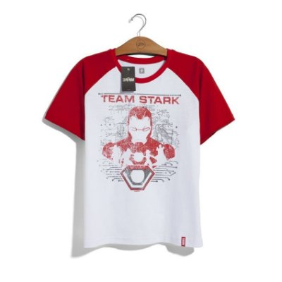 Camiseta Marvel Team Stark