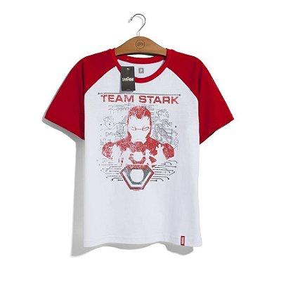 Camiseta Marvel Time Homem de Ferro