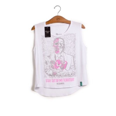 Camiseta Breaking Bad Dead Gus Feminina