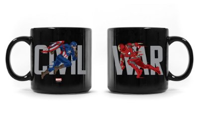 Caneca Marvel Guerra Civil