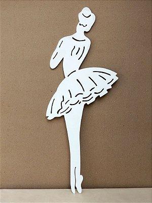 Bailarinas de Madeira Grande - Parede