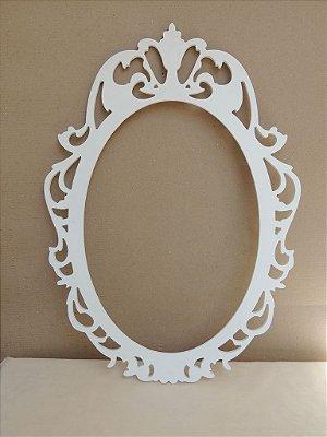 Moldura de Espelho Oval VERTICAL