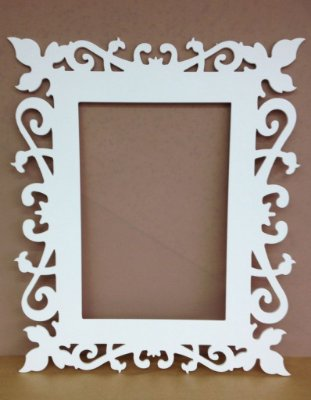 Moldura de Espelho RETANGULAR