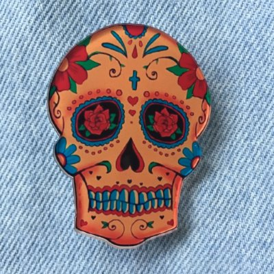 pins | caveira mexicana | coleteria