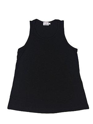 blusa básica | regata preta | coleteria