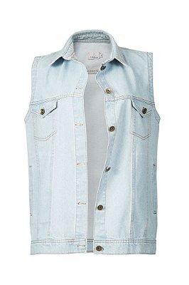 colete jeans | manhattan claro | coleteria in the city