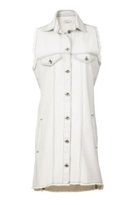 colete e vestido jeans | mr. big claro | coleteria in the city