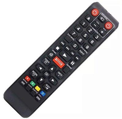 Controle Remoto Blu-Ray Samsung AK59-00153A / BD-E5300 / BD-E5500 função Netflix