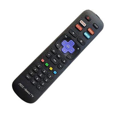 Controle Remoto para  TV Smart  AOC Roku Rc39j-101039j0005