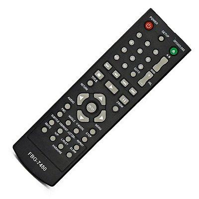 Controle Remoto Para Dvd Philco PH148 / PH148L / PH148R / PH154 /  PH155