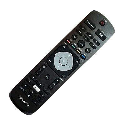 Controle Remoto para Philips TV 65PFL5922/F7, 65PFL5922, 50PFL5922/F7, 50PFL5922