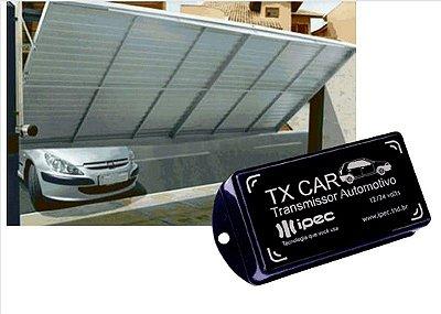 TX Car Dispositivo para abertura de Portões Automáticos piscando o farol do Carro.