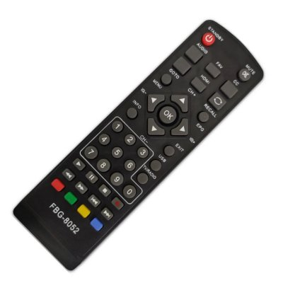 Controle Remoto para Conversor Digital Itrend ITDTV1101
