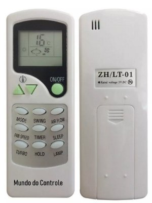 Controle Remoto Ar Condicionado Elgin Srfi-24000-2 Srfi9.000