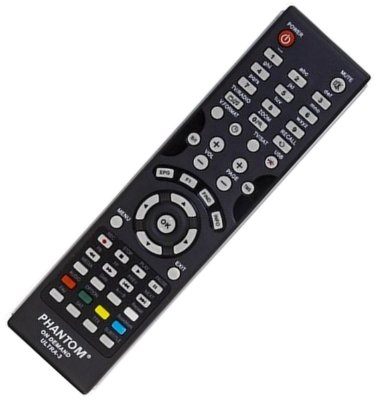 Controle Remoto Receptor Phantom Ultra 3 HD On Demand