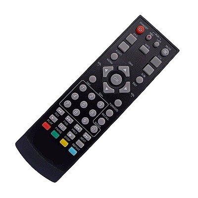 Controle Remoto Conversor Digital / Analógico Tele System F21 (TS-F21) / TS2300