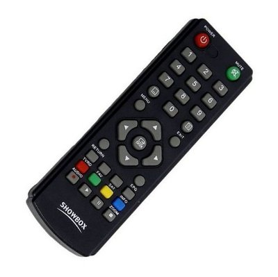 Controle Remoto Receptor Showbox Ultra HD Multimedia