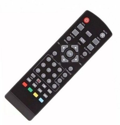 Controle Remoto Conversor Tv Digital San Full Hd