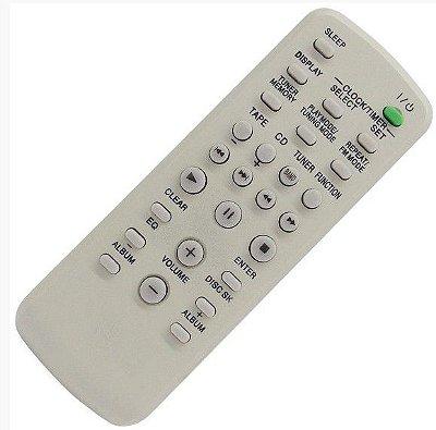 Controle Remoto Aparelho de Som Sony RM-SC30 / CMT-HPX9 / CMT-HPX10W / HCD-GX355 / HCD-GX450