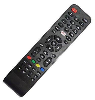 Controle Remoto Tv Philco Led Smart C/ Netflix E Youtube