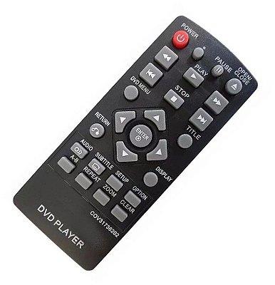 Controle Remoto DVD LG  COV31736202 DP132